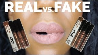 $2 KYLIE JENNER LIP KITS! REAL VS FAKE KING K, DOLCE K, TRUE BROWN K