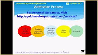 Admission Process for Bachelors, Masters, and PhD in Lithuania, Study in Lithuania