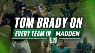 Tom Brady plays on every team in Madden   Pick Six   CBS Sports HQ