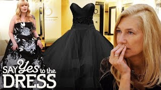 Conservative Mother Disapproves of Black Wedding Dress | Say Yes To The Dress Atlanta