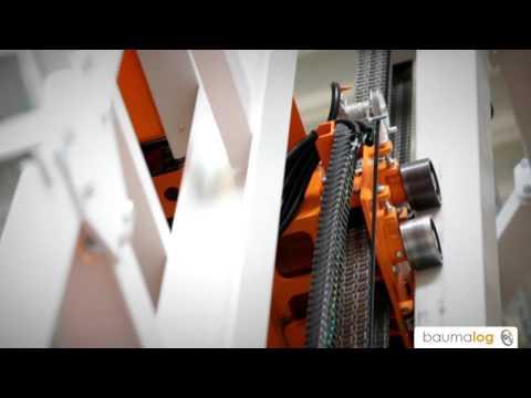 System kompletacji profili aluminiowych - regały automatyczne TwinTower