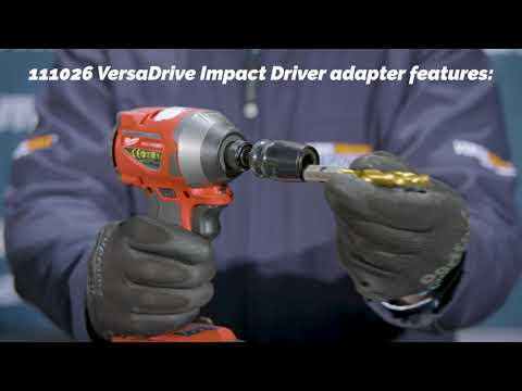 HMT 111026-014A VersaDrive Rapid-Lock 1/4 Impact Driver Adaptor