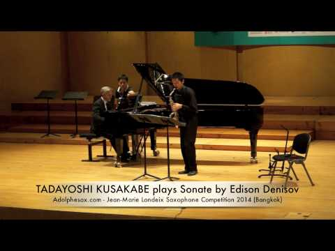 TADAYOSHI KUSAKABE plays Sonate by Edison Denisov