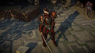 Path of Exile: Dragon Hunter Armour Set