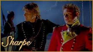 The Calm Before Brigadier General Loup Attacks | Sharpe