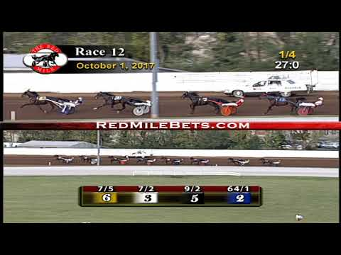 Red Mile Racetrack Grand Circuit Race 12 10-1-2017