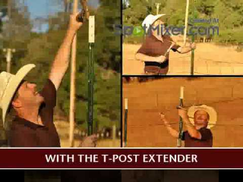 Extend The Height Of Your T Post Fencing In One Day