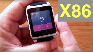 Ourtime X86 Smartwatch with Camera and Light: Unboxing and 1st Look