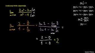 Računanje limite zaporedja 4