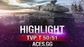 Чехословацкий танк в деле! Часть 3. TVP T 50/51