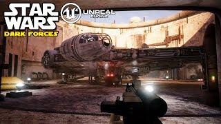 Star Wars Dark Forces in Unreal Engine 4! - So könnte ein Star Wars Spiel heute aussehen! Remake