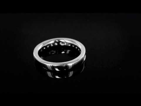 Browns Family Jewellers Diamond Platinum Band
