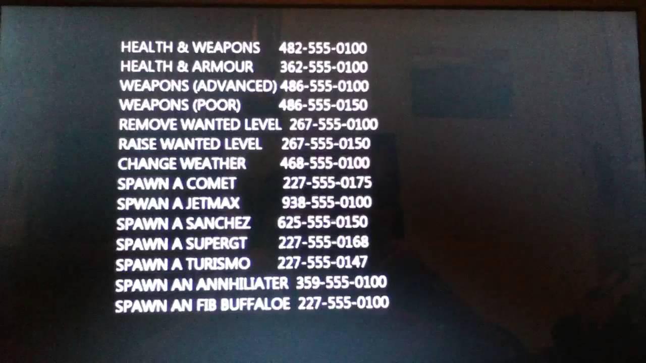 GTA 4 Cheat Codes - YouTube
