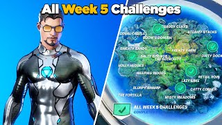 Fortnite All Week 5 Challenges Guide (Fortnite Chapter 2 Season 4)