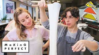 Carla and Molly Try to Make the Perfect Pizza Cheese | Making Perfect: Episode 3 | Bon Appétit
