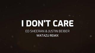 Ed Sheeran & Justin Beiber - I Don't Care (Samba Remix by Watazu)
