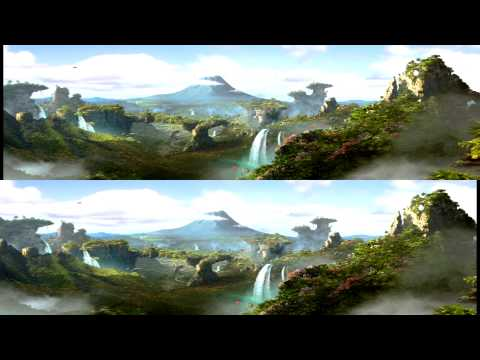 Journey 2- The Mysterious Island Trailer in 3d
