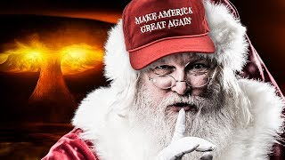 Profiting Off The Presidency: Trump Selling Christmas MAGA Hats For Twice The Price