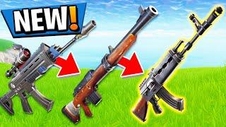 *NEW HEAVY ASSAULT RIFLE* GUN GAME in Fortnite PLAYGROUND V2 MODE! - Fortnite Battle Royale