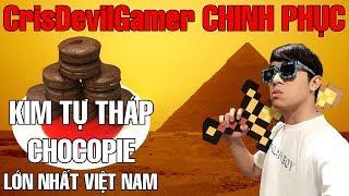 CrisDevilGamer CHINH PHỤC KIM TỰ THÁP CHOCOPIE và Cuộc đua ChocoRun