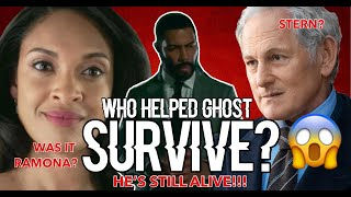WHO HELPED GHOST SURVIVE? **SHOCKING**