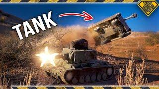 Homemade RC Tank Battle