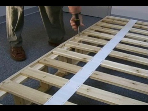 Wooden Bed Frame Diy How To Build