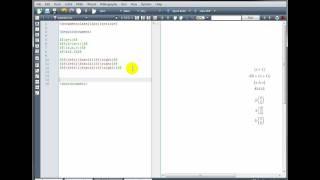 LaTeX Tutorial 3 - Brackets, Tables & Arrays - Part 1/2