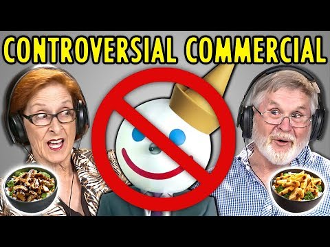 ELDERS REACT TO CONTROVERSIAL JACK IN THE BOX AD (