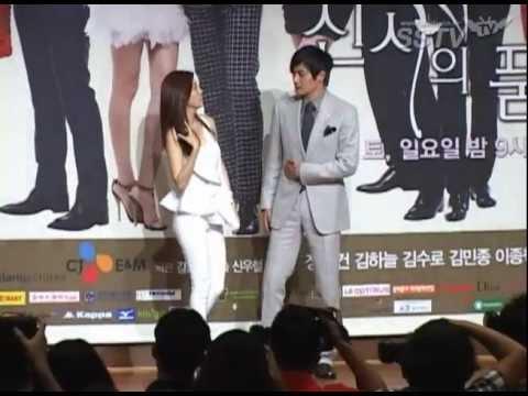 [SSTV] '신사의 품격' 장동건-김하늘 등 안구정화 커플들 '포즈도 달콤'