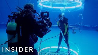 How 'The Meg' Shot Its Underwater Shark Attack Scenes