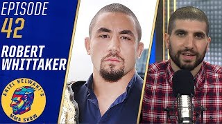 Robert Whittaker reacts to Israel Adesanya's win over Kelvin Gastelum | Ariel Helwani's MMA Show