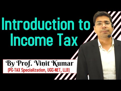 video CMA INTER GROUP-1 (NEW COURSE) DIRECT TAXATION (FULL COURSE) by Prof. Vinit Kumar