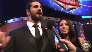 Seth Rollins on potential Brock Lesnar WWE departure: 'Don't believe everything you read online'