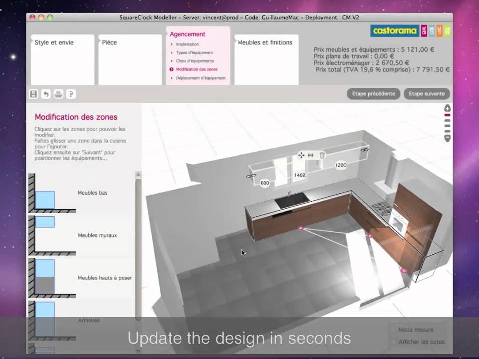 casto 3d cuisine youtube. Black Bedroom Furniture Sets. Home Design Ideas