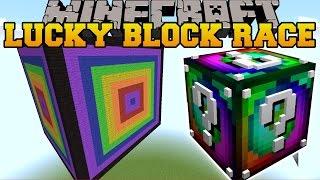 Minecraft: EXTREME DOUBLE LUCKY BLOCK RACE - Lucky Block Mod - Modded Mini-Game