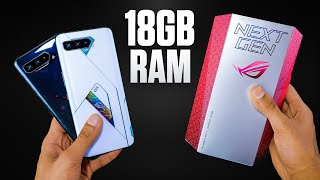 ROG Phone 5 Ultimate Unboxing - So Fast it's Funny.