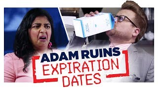 Expiration Dates Don't Mean What You Think  | Adam Ruins Everything
