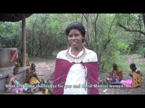 Jemima talks Basecamp Maasai Brand