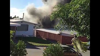 Two killed in Kahala house fire