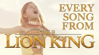 EVERY SONG FROM DISNEY'S THE LION KING! - 6-YEAR-OLD CLAIRE AND THE CROSBY FAMILY