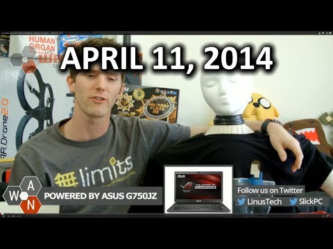 The WAN Show: Will.I.Am's Smartwatch, FreeSync Coming??,  - April 11th, 2014 - Smashpipe Tech