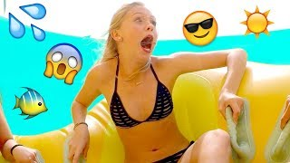Jordyn Jones' Wet & Wild Waterpark Vlog- Summer Vlogcation