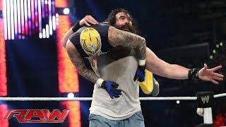Rey Mysterio, Cody Rhodes & Goldust vs. The Wyatt Family: Raw, Feb. 10, 2014