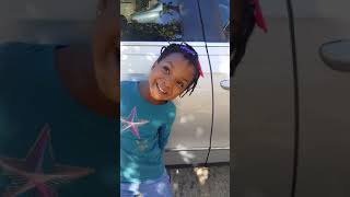 Cute kid singing Rolly Rolly Rolly her own way (lol)