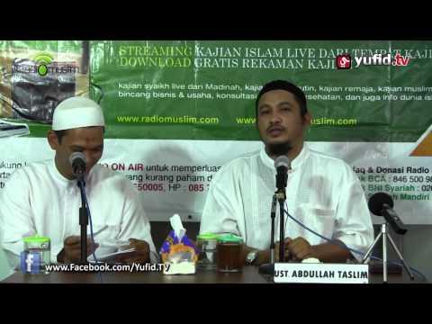 Tanya Jawab Islam: Galau Ingin Nikah, Namun Masih Kuliah - Ustadz Abdullah Taslim