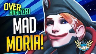 Overwatch Coaching - MAD MOIRA! Diamond 3200 SR [OverAnalyzed]
