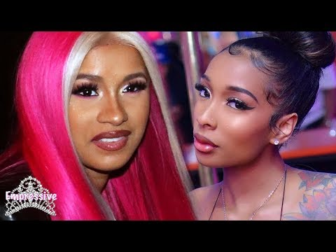 Cardi B confronts Offset's side chick at a night club. MESSY!