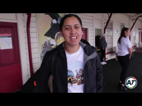 Maori Music Month singers on Auckland's trains