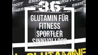 Built by Science #36 - Glutamin für Fitness-Sportler und Bodybuilder!?